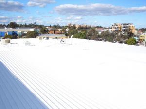 Solyndra Blacktown RSL roof paint