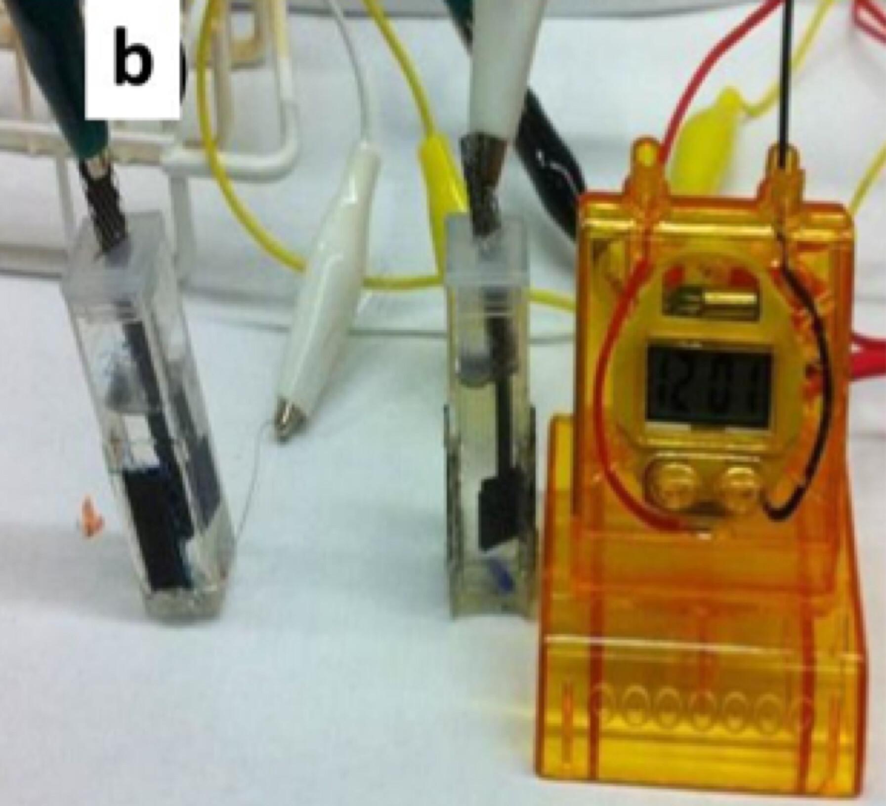 Sugar Battery Digital Clock