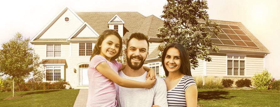 family solar home