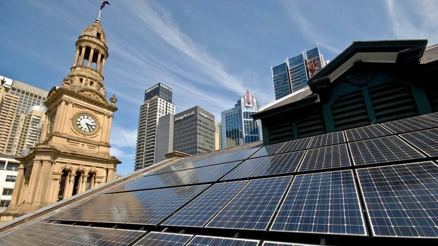 Sydney Town Hall Panels