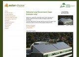 Solar choice Commercial Tender Management Platform screenshot