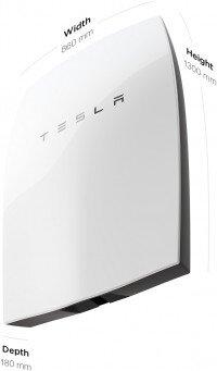 Tesla Powerwall Dimensions