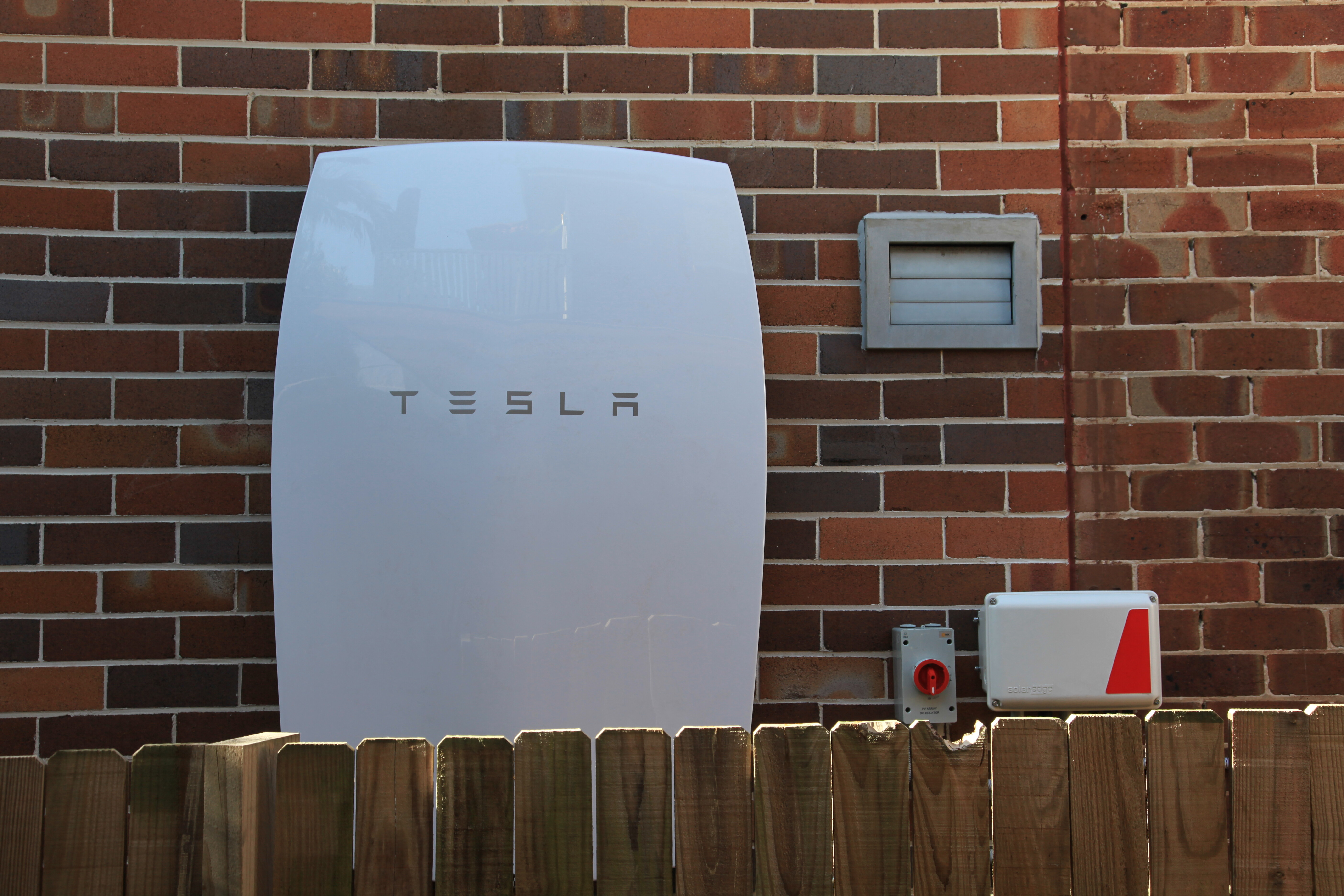 Tesla Powerwall and SolarEdge comms box 1