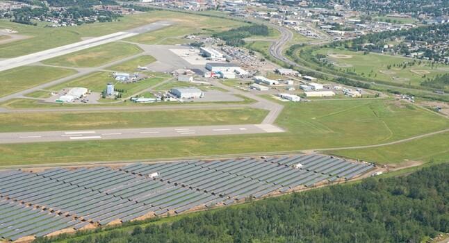 Thunder Bay Airport solar park
