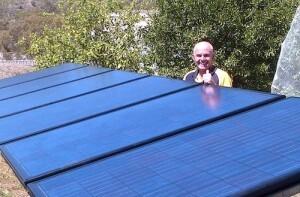 Tindo solar panels first installation Adelaide