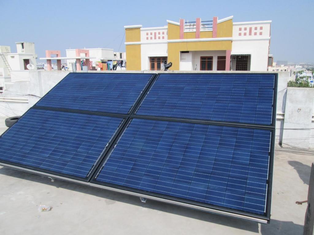 Tindo solar panels shipment to India