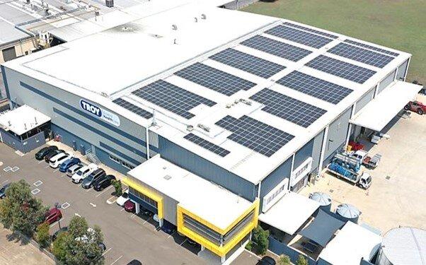 Troy Laboratories Sydney NSW 200kW Solar Panel system