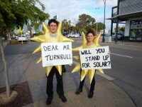 Turbull Stand up for Solar
