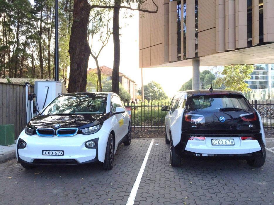 UNSW BMW i3 fleet
