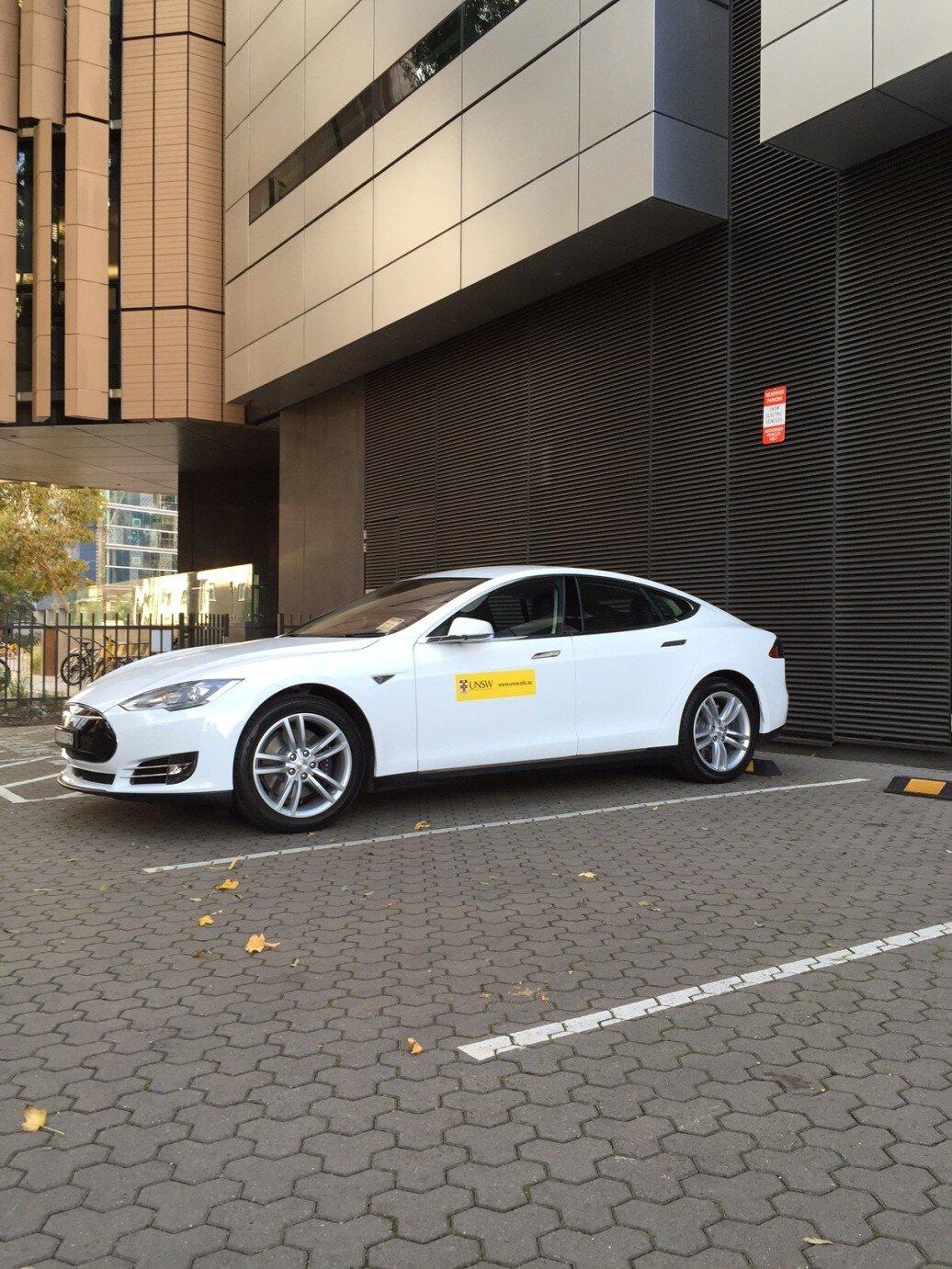 UNSW Tesla Model S