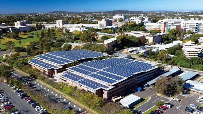 University of Queensland Trina Solar Panels