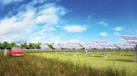 Sunshine Coast 15MW solar project mockup