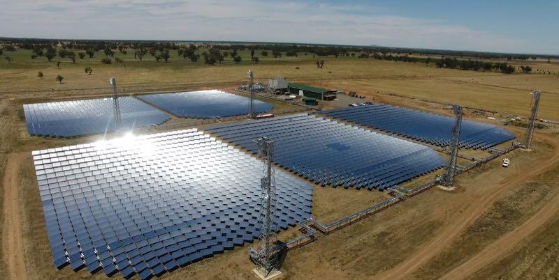 solar thermal grid mt isa