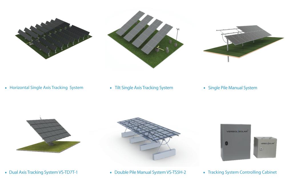 Versol Solar Tracking