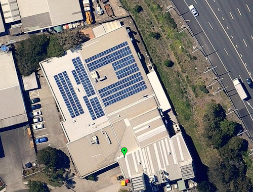 70kW Vector Aerospace Brisbane