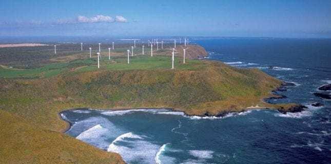 Woolnorth Tasmania wind farm