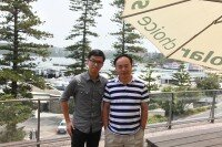 Post image for Suntech's Professor Zhenrong Shi visits the Solar Choice office