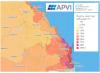 Australian solar map