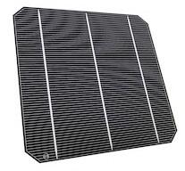 A Bosch monocrystalline solar cell