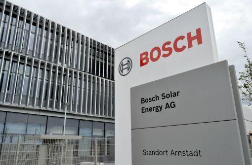 bosch solar factory