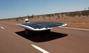 World S Fastest Solar Powered Car Built By Unsw Students