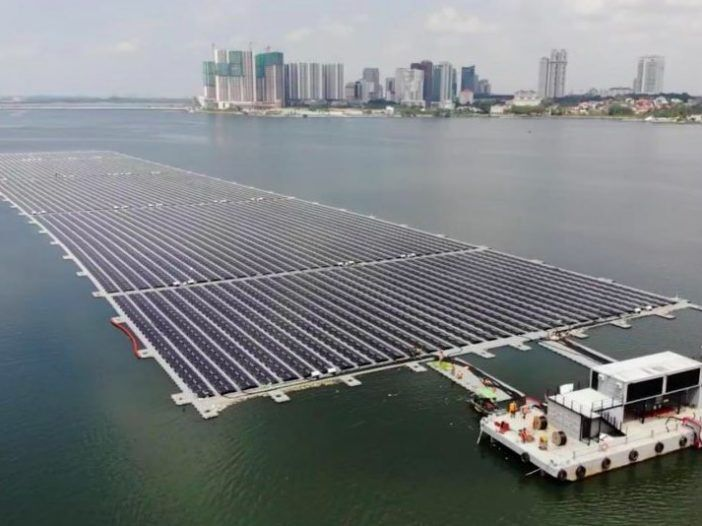 Sunseap 5MSW offshore floating solar PV farm