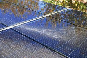 solar panel deterioration