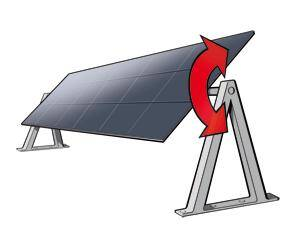 Horizontal type single-axis trackers - solar-tracking.com