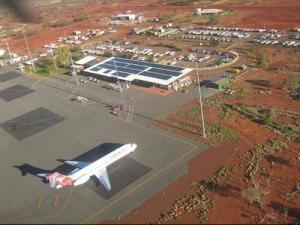 newman wa airport commercial solar installation 1