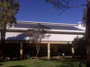 Solar energy installation at Murdoch University, Perth. Taken by Angus Gemmell