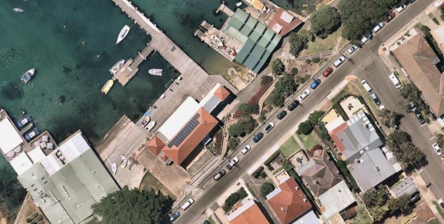 Local Manly Yacht Club solar
