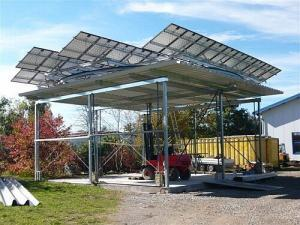 Solar Powered Car Ports Elecric Vehicles - Solar Choice