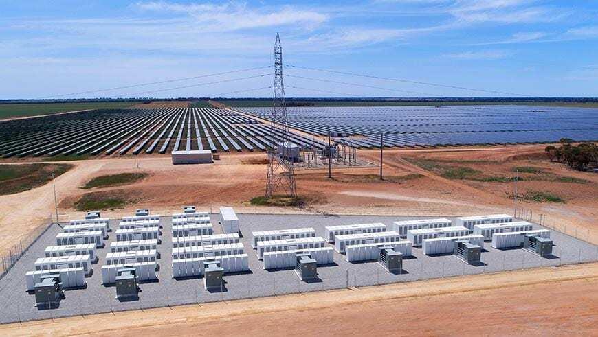 solar battery storage tesla Gannawarra