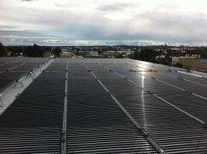 Solyndra solar Blacktown RSL installation